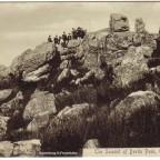 Postkarte Der Gipfel von Devils Peak 1900c