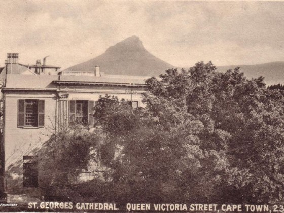 Postkarte St Georges Cathedral 1903