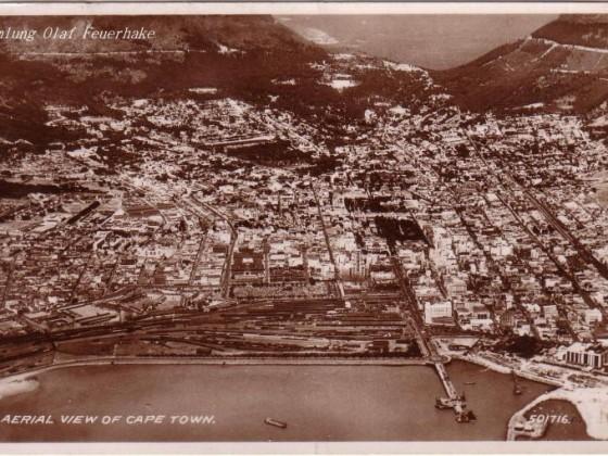 Postkarte Aerial View 1948