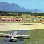 D.F. Malan Airport Cape Town 1966