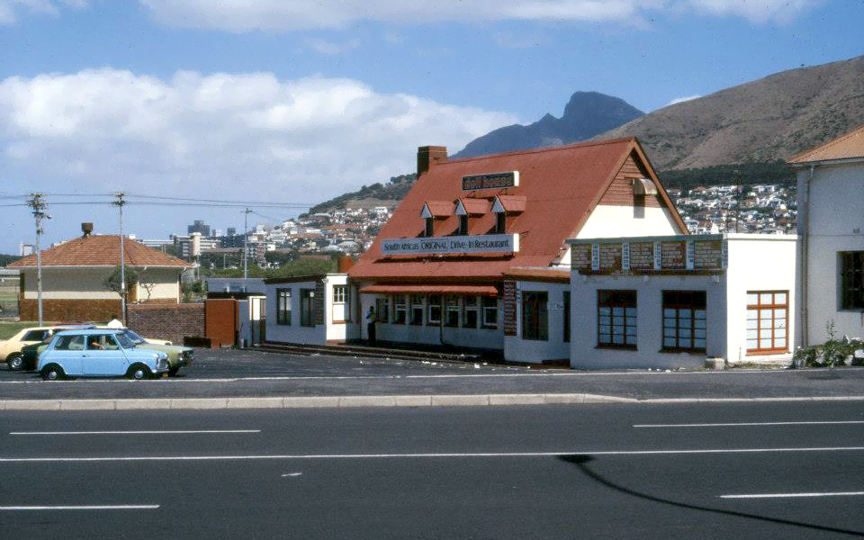 Doll House in Mouille Point. late 60's