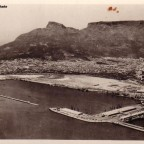 Postkarte View of Docks