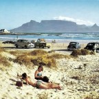Blouberg beach during the 50s