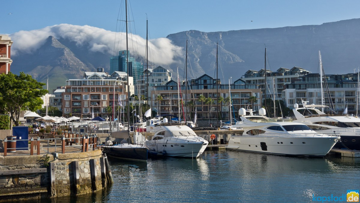 Impressions from the V & A Waterfront