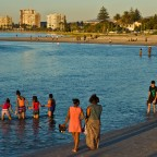 Milnerton Lagoon before sunset
