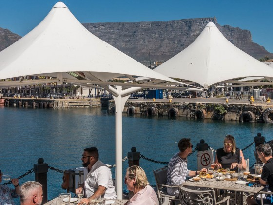 Impressions from the V&A Waterfront in Cape Town