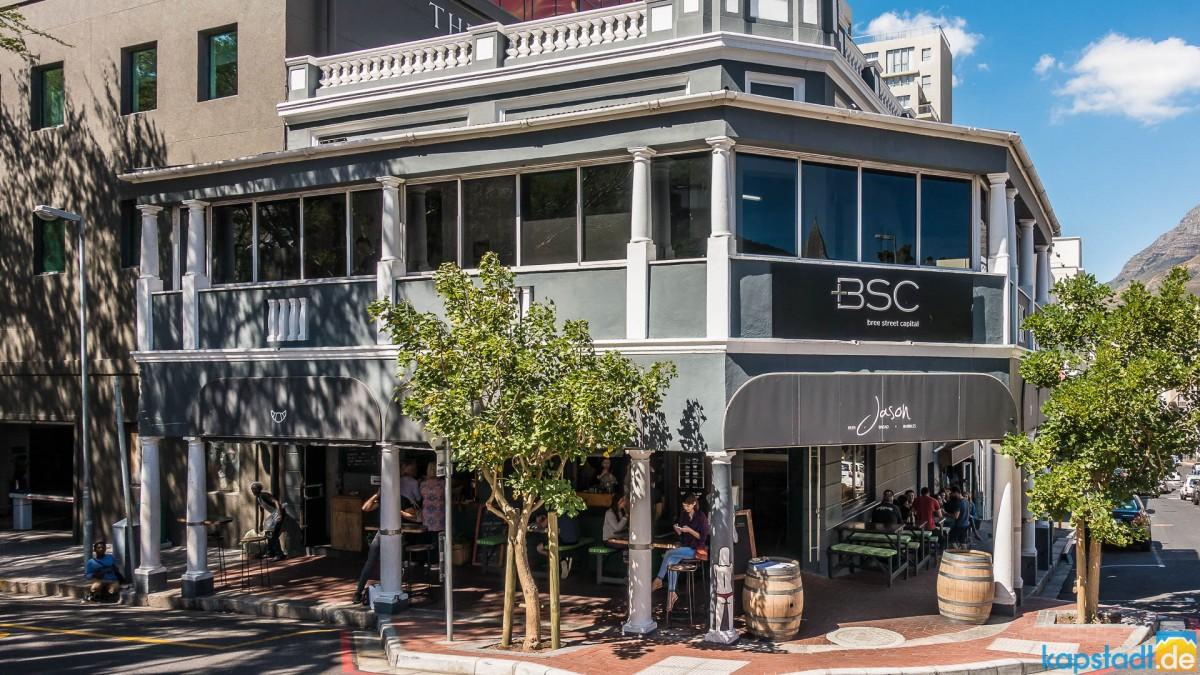 Jason Bakery in Bree Street in Cape Town