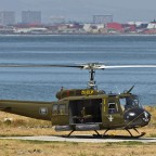 "Vietnam ""Huey"" helicopter at the V&A Waterfront"