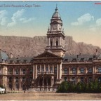 Postkarte City Hall gelaufen 1907 nach England