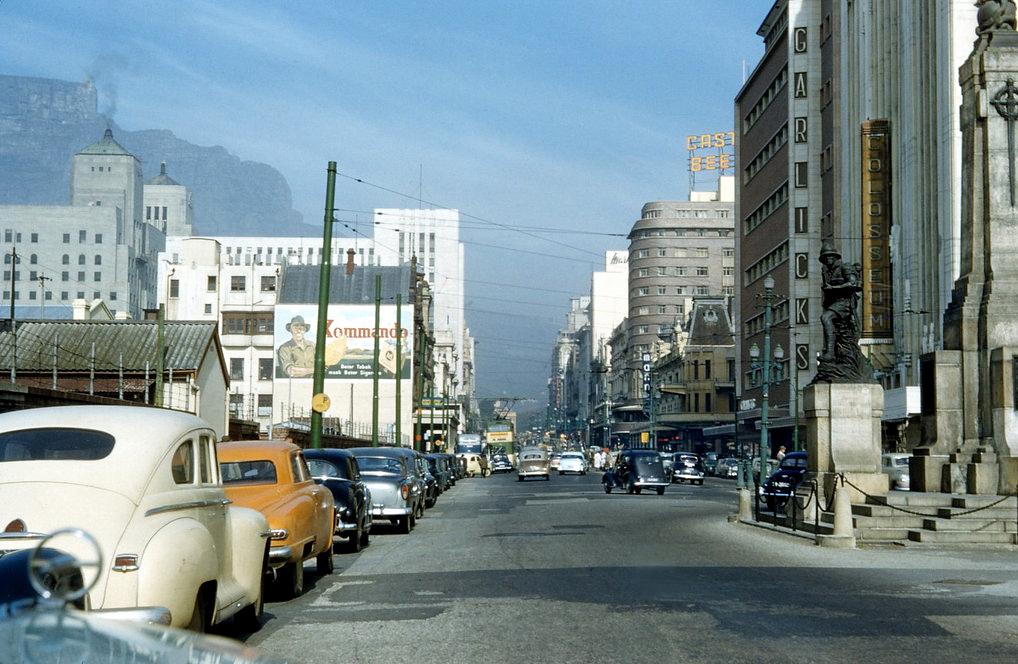 Adderley street, 1955