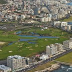 Helicopter flight: Green Point and Green Point Park