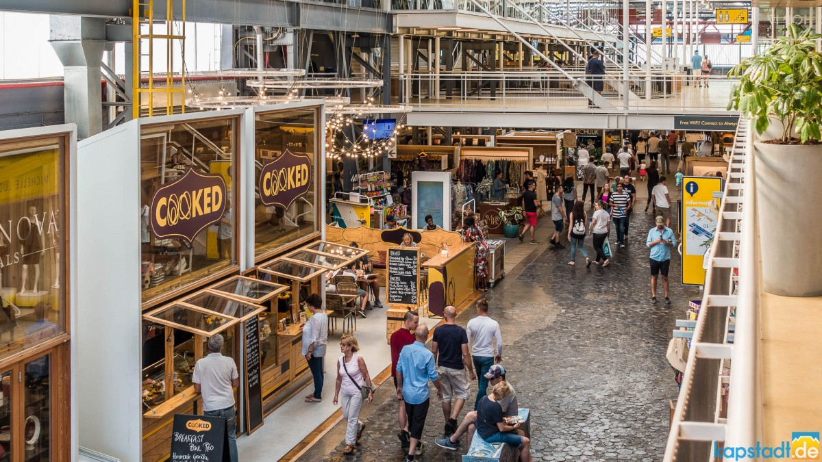 Watershed market at the V&A Waterfront