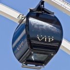 VIP cabin of the big wheel at the V&A Waterfront