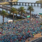 Cape Town 12 ONERUN (21.5.2018) - Start at Woodbridge Island