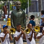 Musicians at the V&A Waterfront