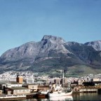 When Table Mountain still had a forest 1968
