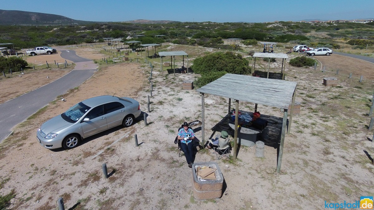 "Flying the drone at ""Eerste Steen"" braai area"