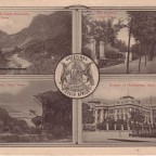 Postkarte Greetings from South Africa 1902