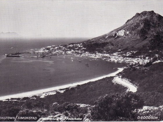 Postkarte Simonstown - Simonstad