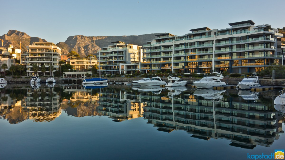 Yacht harbour at the V&A Waterfront