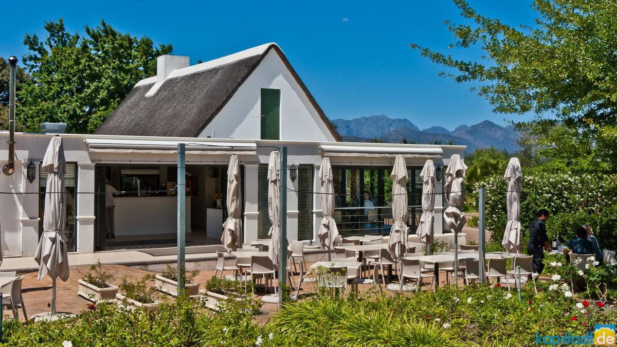 Restaurant in the Winelands