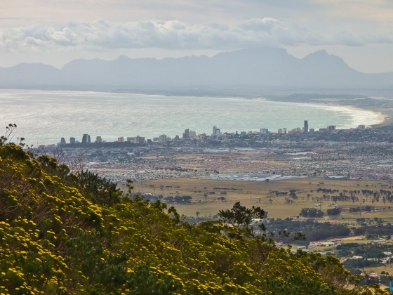 Somerset West and Strand from Sir Lowry's Pass