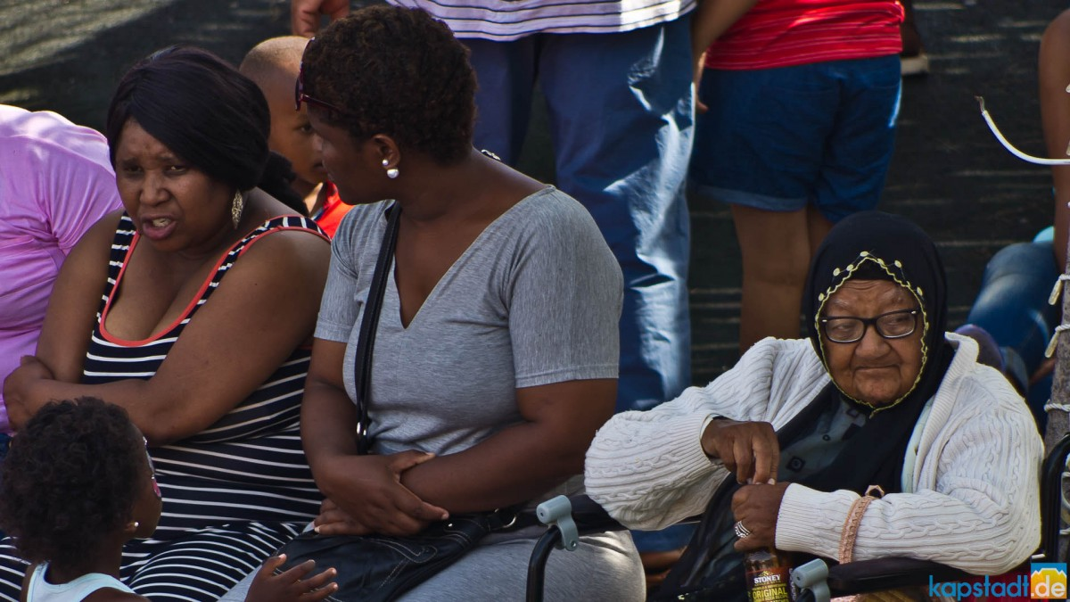 Snapshots of people at the V&A Waterfront