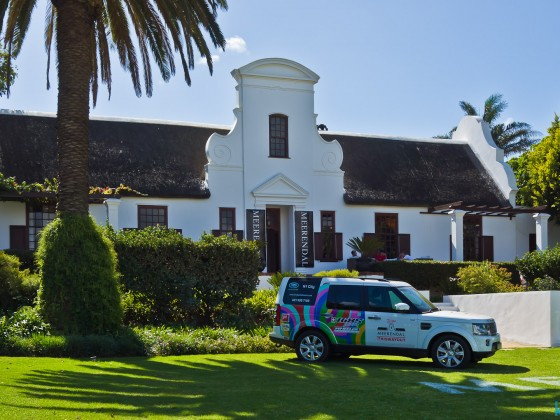 Meerendal Wine Estate main house