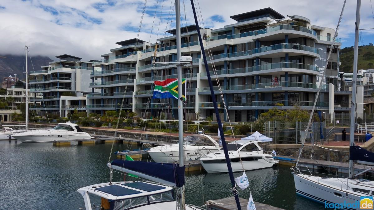 Yacht Marina at the Waterfront