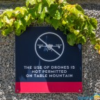 Table Mountain - no drones allowed