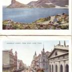 Postkarten Adderley und Hout Bay