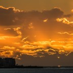 Sunset over Green Point seen from Milnerton