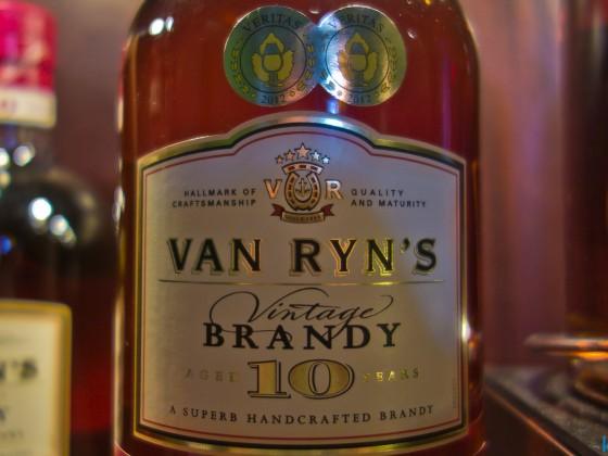 Van Ryn's Brandy Distillery in Stellenbosch