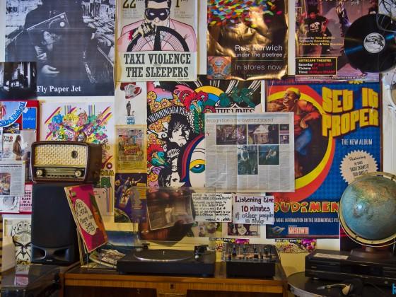 Vinyl record shop in Kloof Street