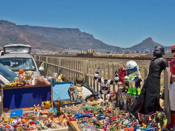 Impressions from the Milnerton Fleamarket