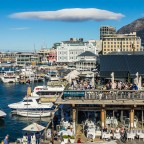 V&A Waterfront and the Harbour House Restaurant in Cape Town