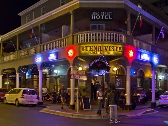 Buena Vista Social Cafe at night - Long Street