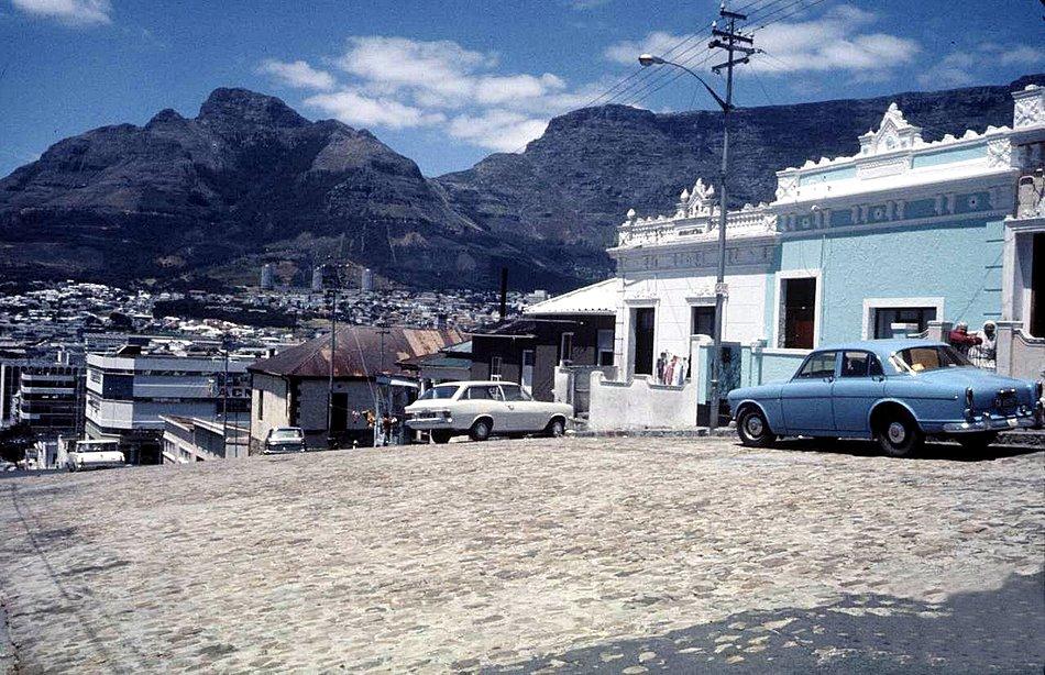 Bloem str. Bo Kaap 1974