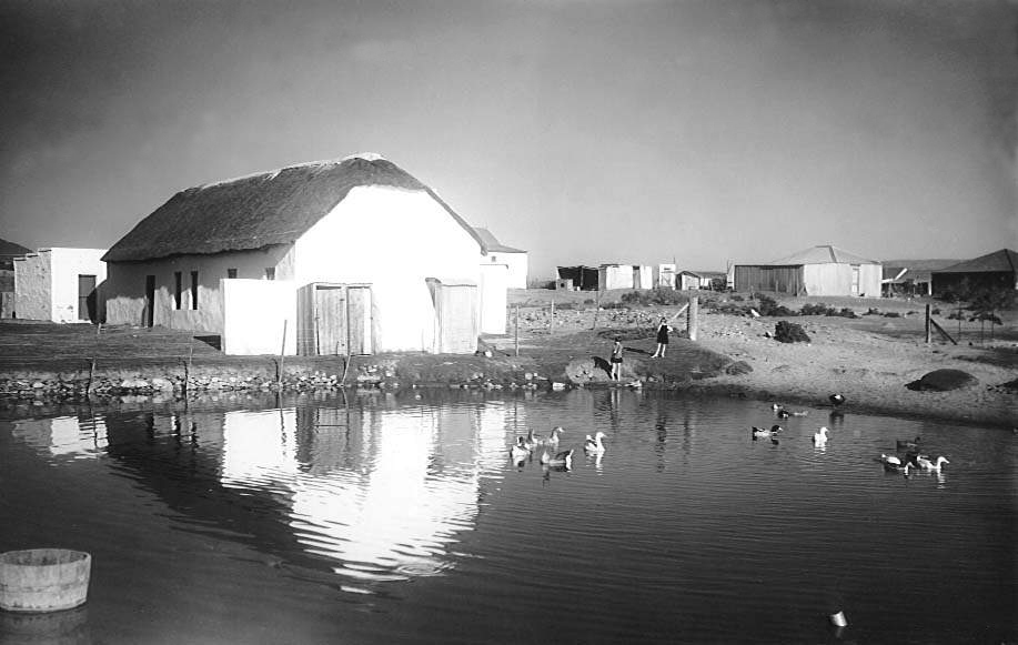 The Damhuis, Melkbosstrand circa 1900