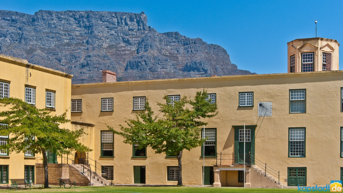 Castle of Good Hope near Grand Parade