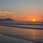 Sunset at Milnerton Beach