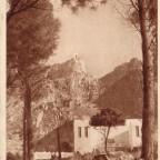 Postkarte Seilbahn Berg-und Talstation