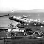 C.T. Pier at dusk c1925