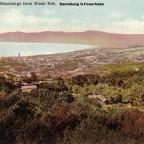 Postkarte Table Bay und Blaaubergs gelaufen 1903 nach Hamburg