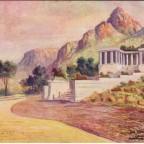 Postkarte Rohdes Memorial