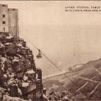 Postkarte Upper Station Table Mountain