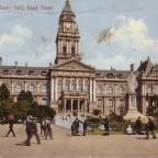 Postkarte Town Hall