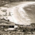 Fish-Hoek beach circa 1960