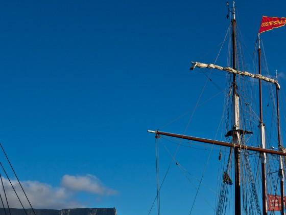 Sailship at the V&A Waterfront