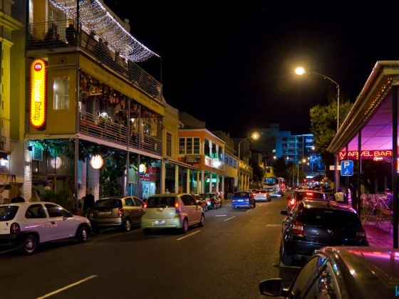 Long Street night life
